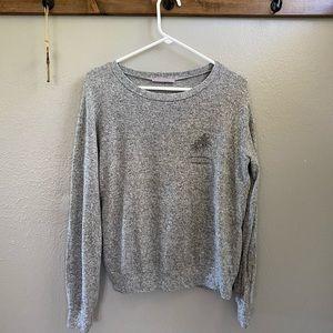 Anthropology Purple Snow Sweater